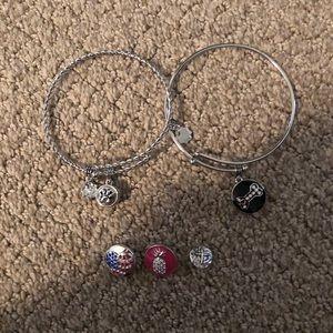 Magnolia & Vine bracelets and charms